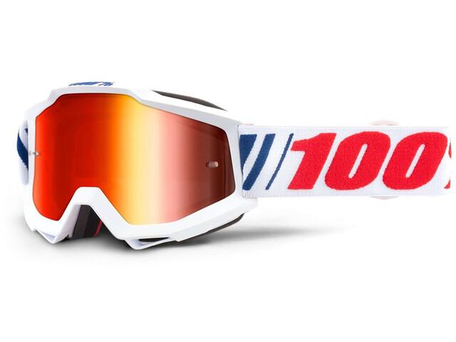 100% Accuri Anti Fog Mirror Goggles Ungdom AF066